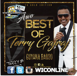 Best of Terry Gajraj CD