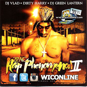 Best Of      - 2PAC - Rap Phenomenon 2 Hosted by DJ Vlad Dirty Harry