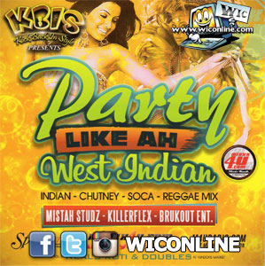 Party Like A West Indian 1 by Various Djs