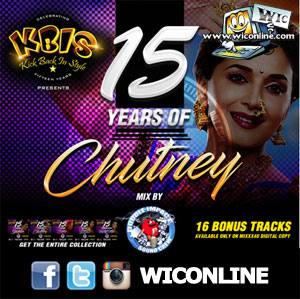 KBIS 15 Years Of Chutney Mix By Double Impact Sound Crew