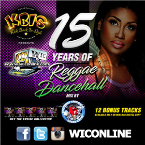 KBIS 15 Years Of Reggae Dancehall mixed by DISC