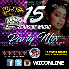 KBIS 15 Years Of Party Music Mix By Double Impact Sound Crew
