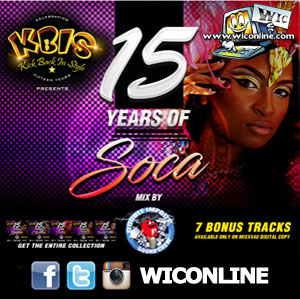 KBIS 15 Years Of Soca Mix By Double Impact Sound Crew
