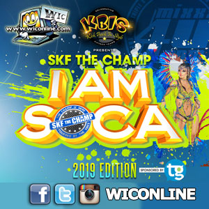I AM Soca 2019 by SKF