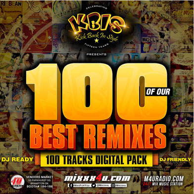 Mixed CD's - KBIS Best 100 Remixes Digital Pack - West