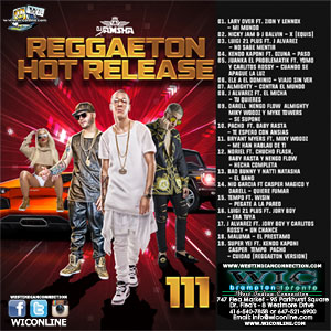 Reggaeton Hot Release 111 by DJ Jamsha