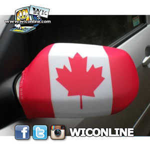 Canada Side Mirror Flags