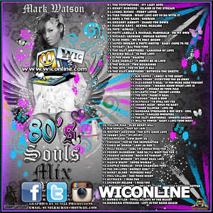 Mark Watson - 80's Soul & R&B Mix Vol. 1 CD