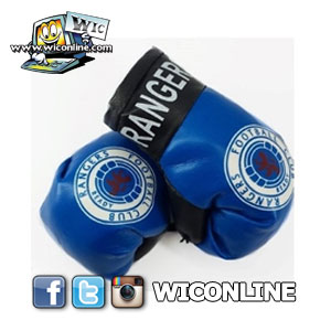 Rangers Boxing Gloves