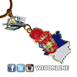 Russia Keyring & Crest