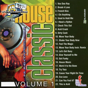 Old house music dj eddie classic house volume 1 west for Classic house volume 1