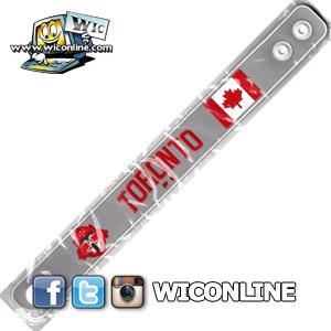Toronto FC Wristband Grey
